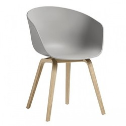 About a Chair AAC22, oak - concrete grey