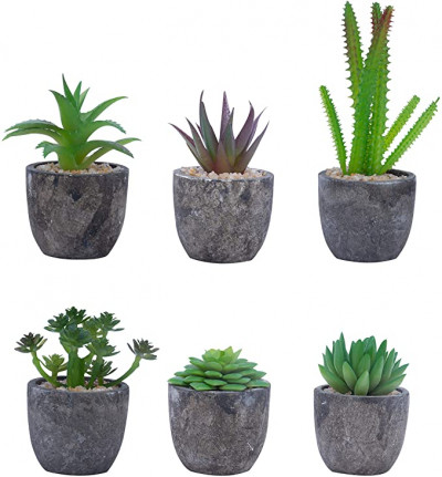 Mini Plantas Artificiales Suculentas Decorativas BELLE VOUS